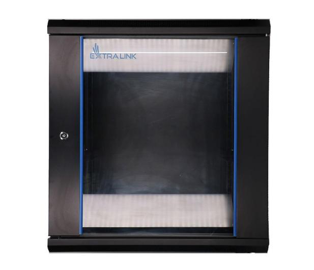 """ExtraLink Wisząca 19"""" 12U 600x450mm (czarna)  - 489361 - zdjęcie"""