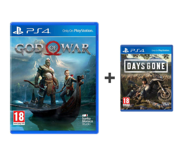 Sony God of War + Days Gone - 494302 - zdjęcie 1