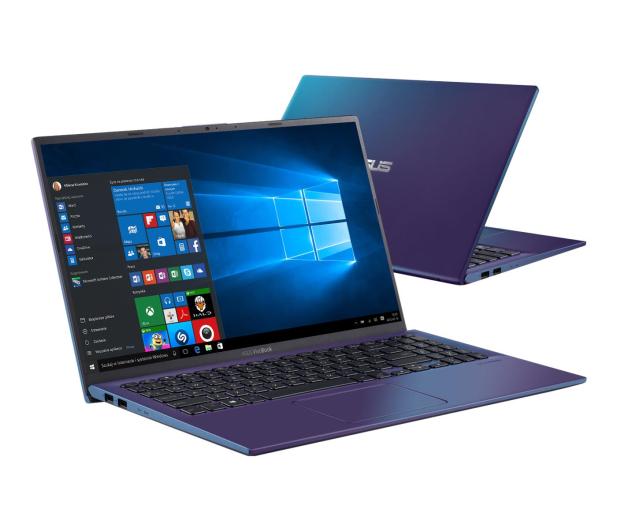 ASUS VivoBook 15 R512FA i5-8265U/12GB/256/Win10 Peacock - 498176 - zdjęcie