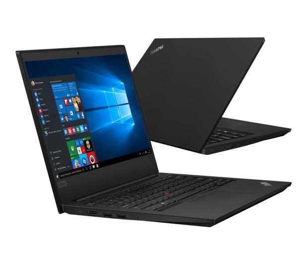 Lenovo ThinkPad E490 i3-8145U/8GB/240+1TB/Win10Pro FHD  - 502599 - zdjęcie