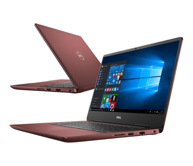 Dell Inspiron 5480 i5-8265U/8GB/256/Win10 MX250 FHD Red - 489976 - zdjęcie