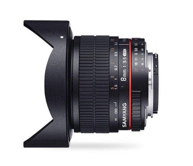 Samyang 8mm F3.5 H.D Canon - 490447 - zdjęcie 3