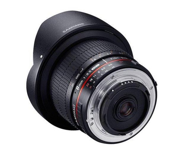 Samyang 8mm F3.5 H.D Canon - 490447 - zdjęcie 4