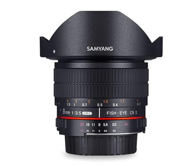 Samyang 8mm F3.5 H.D Canon - 490447 - zdjęcie