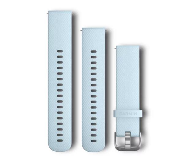 Garmin Pasek silikonowy lazurowy do koperty 20mm - 490331 - zdjęcie