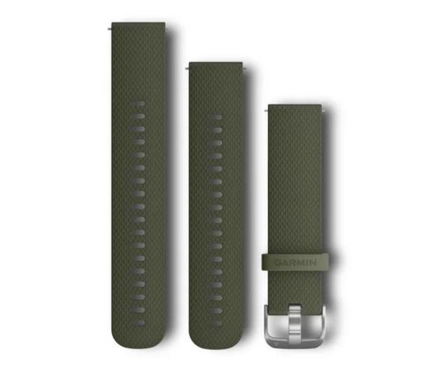 Garmin Pasek silikonowy zielony do koperty 20mm - 490330 - zdjęcie