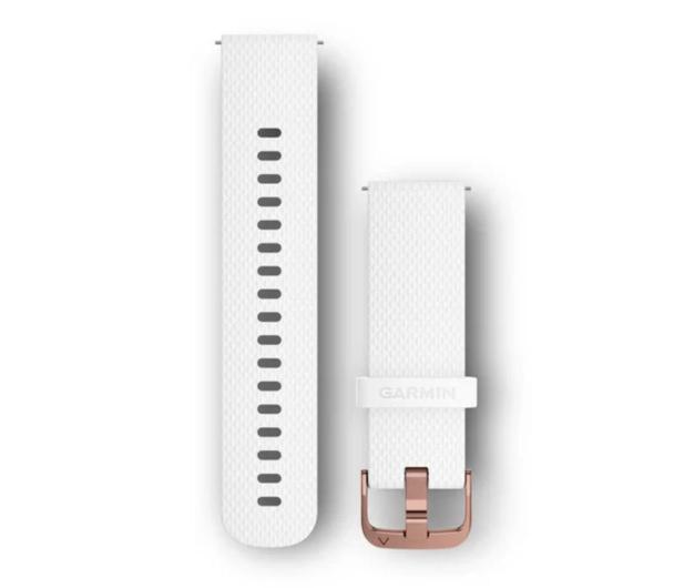 Garmin Pasek silikonowy biały  - 490336 - zdjęcie