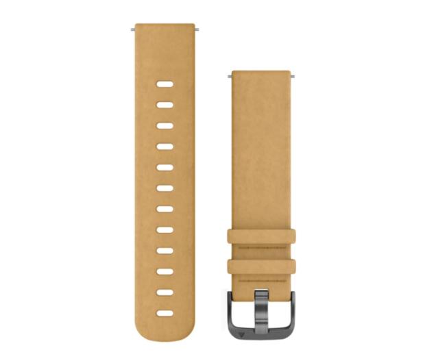 Garmin Pasek skórzany brązowy do koperty 20mm - 490356 - zdjęcie