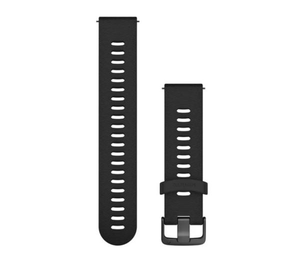 Garmin Pasek silikonowy czarno-popielaty do koperty 20mm - 490341 - zdjęcie