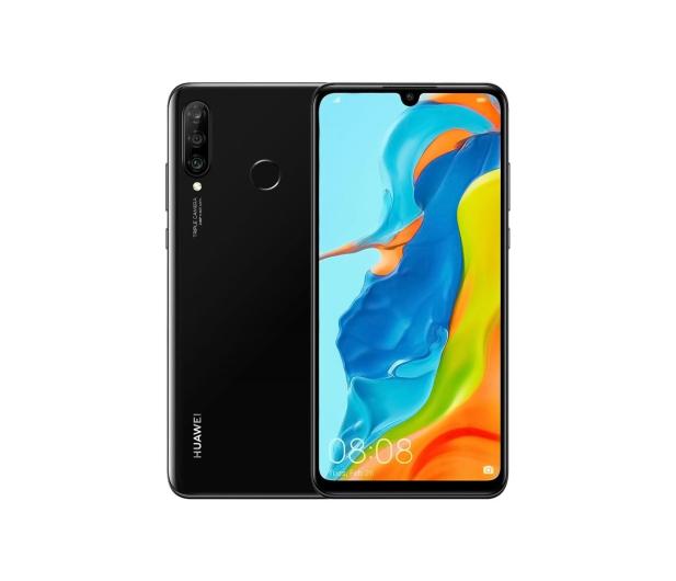 Huawei P30 Lite 128GB Czarny + View Cover do P30 Lite - 503909 - zdjęcie 2