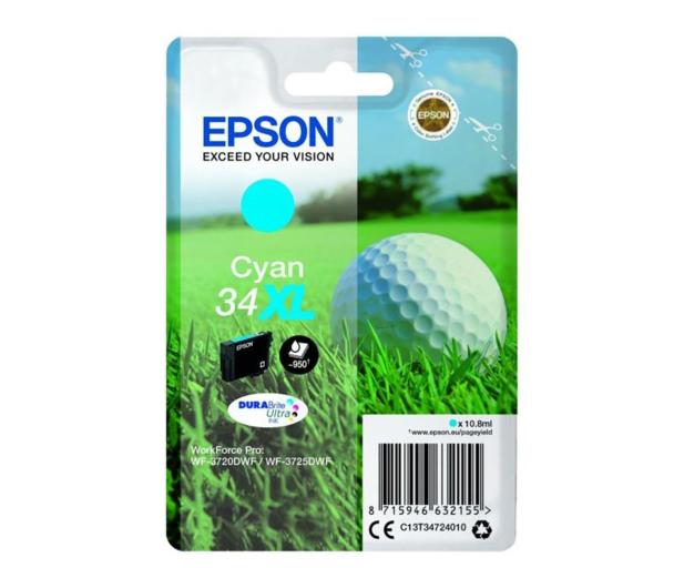 Epson T3472 cyan 950 str. - 367030 - zdjęcie