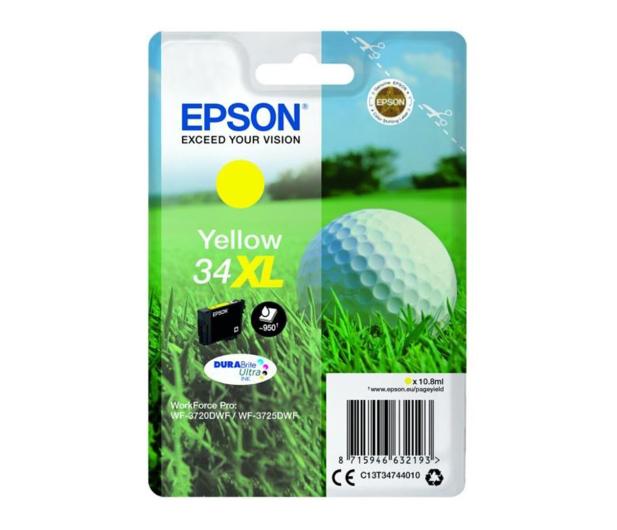 Epson T3474 yellow 950 str. - 367032 - zdjęcie
