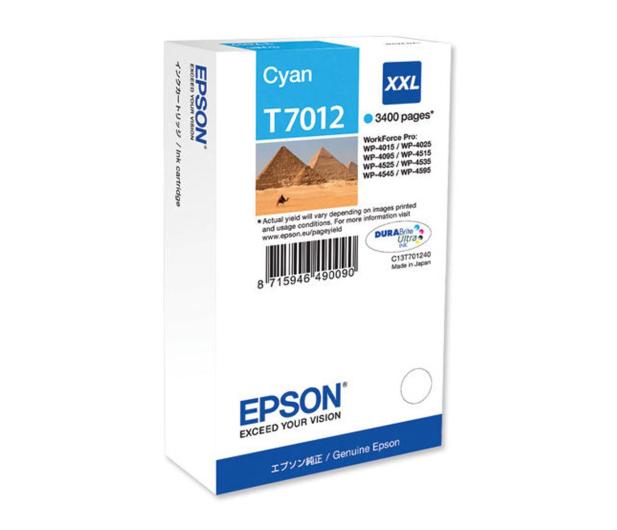Epson T7012 cyan 3400str. (C13T70124010) - 75267 - zdjęcie
