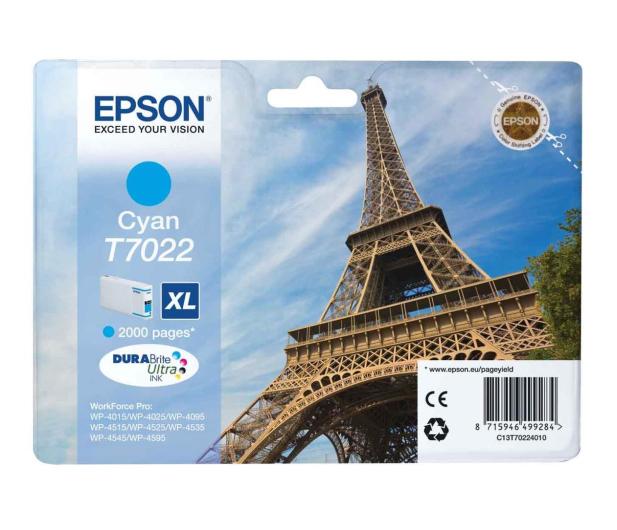 Epson T7022 cyan 2000str. - 75245 - zdjęcie