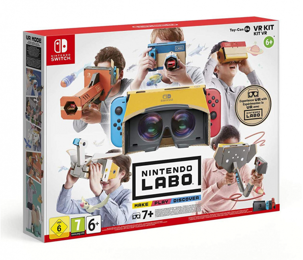 Nintendo SWITCH Nintendo Labo VR Kit - 490516 - zdjęcie