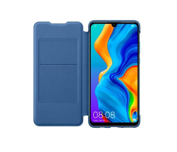 Huawei Wallet Cover do Huawei P30 Lite Blue  - 484521 - zdjęcie 2
