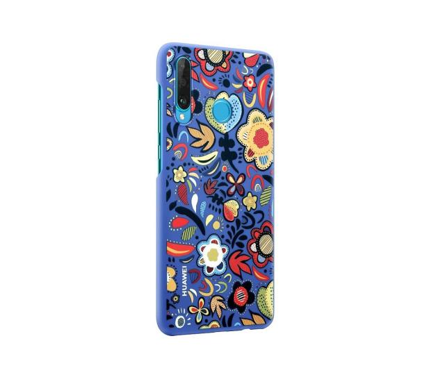 Huawei Plecki Dekoracyjne do Huawei P30 Lite Flower Blue - 484514 - zdjęcie 3