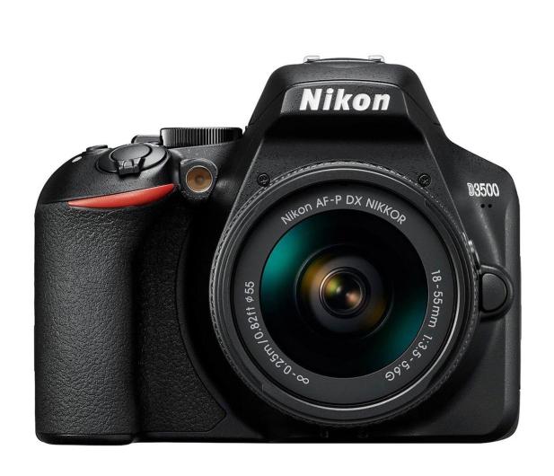 Nikon D3500 AF-P DX 18-55 f/3.5-5.6 G - 495326 - zdjęcie