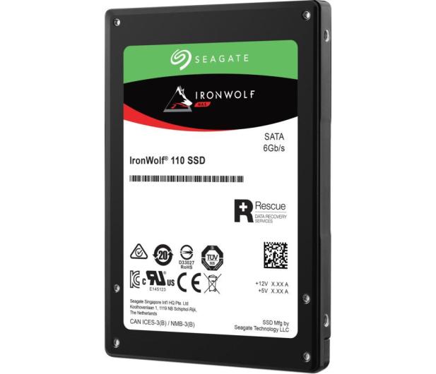 "Seagate 480GB 2,5"" SATA SSD IronWolf 110 NAS  - 495539 - zdjęcie 2"
