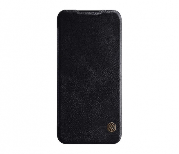 Nillkin Etui Skórzane Qin do Xiaomi Redmi Note 7 czarny - 495703 - zdjęcie