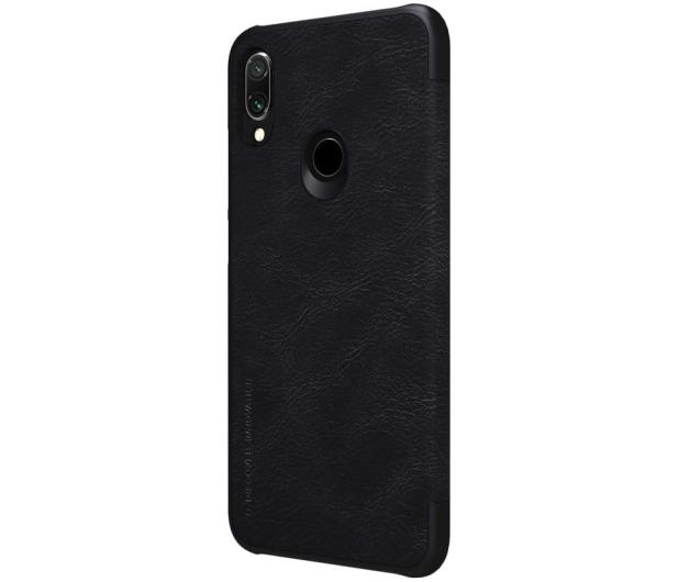 Nillkin Etui Skórzane Qin do Xiaomi Redmi Note 7 czarny - 495703 - zdjęcie 3