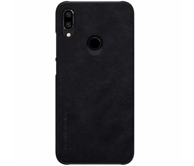 Nillkin Etui Skórzane Qin do Xiaomi Redmi Note 7 czarny - 495703 - zdjęcie 2