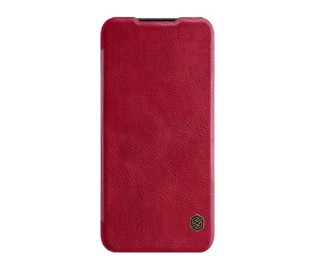 Nillkin Etui Skórzane Qin do Xiaomi Redmi Note 7 czerwony - 495704 - zdjęcie