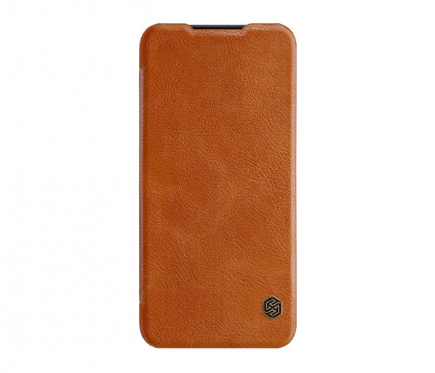 Nillkin Etui Skórzane Qin do Xiaomi Redmi Note 7 brązowy - 495705 - zdjęcie