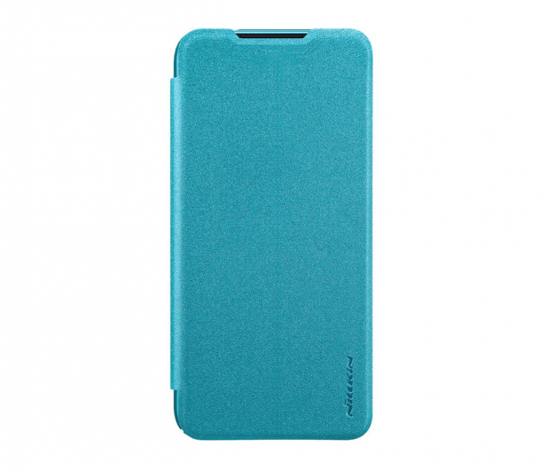 Nillkin Etui z Klapką Sparkle do Xiaomi Redmi Note 7 Blue - 495709 - zdjęcie