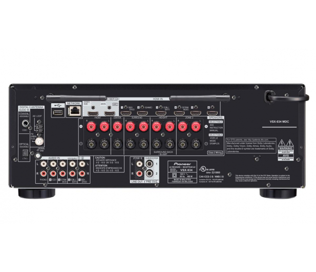 Pioneer VSX-934 Czarny - 496010 - zdjęcie 2