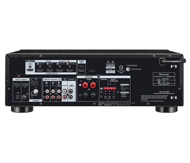 Pioneer VSX-534D Czarny - 496013 - zdjęcie 3