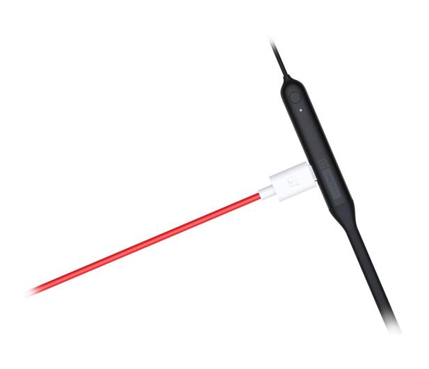 OnePlus Bullets Wireless 2 czarny  - 496028 - zdjęcie 4