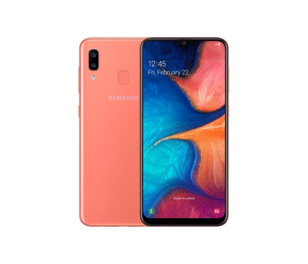 Samsung Galaxy A20e coral - 496064 - zdjęcie
