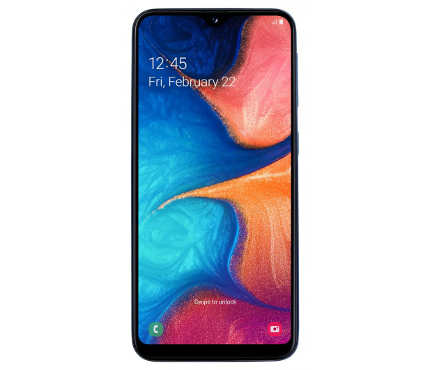 Samsung Galaxy A20e blue + Galaxy Fit e - 522132 - zdjęcie 4