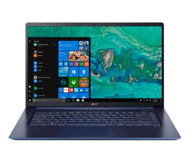 Acer Swift 5 i7-8565U/16GB/512/Win10 Niebieski IPS - 496073 - zdjęcie 2
