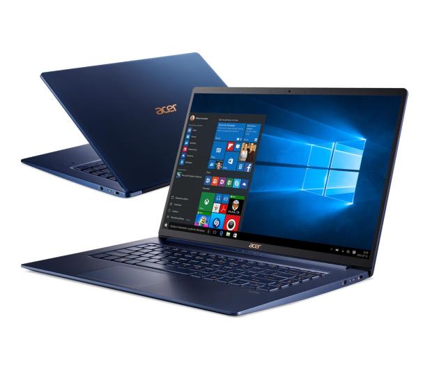 Acer Swift 5 i7-8565U/16GB/512/Win10 Niebieski IPS - 496073 - zdjęcie