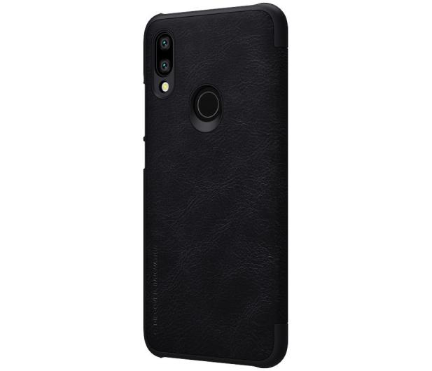 Nillkin Etui Skórzane Qin do Xiaomi Redmi 7 czarny - 497369 - zdjęcie 3
