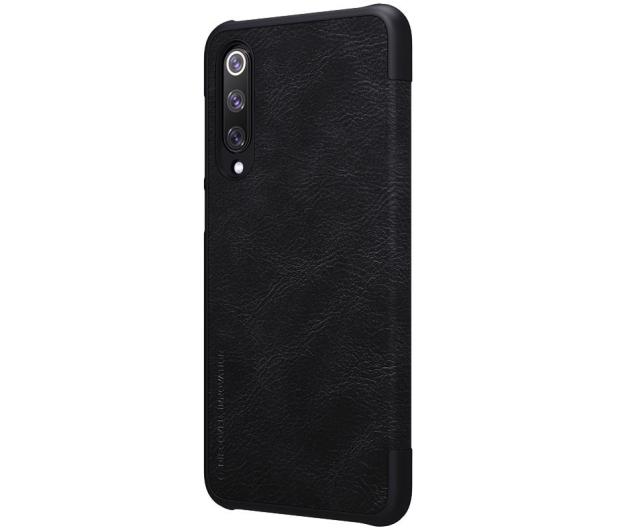 Nillkin Etui Skórzane Qin do Xiaomi Mi 9 SE czarny - 497364 - zdjęcie 3