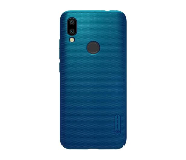 Nillkin Super Frosted Shield do Xiaomi Redmi 7 niebieski  - 497153 - zdjęcie