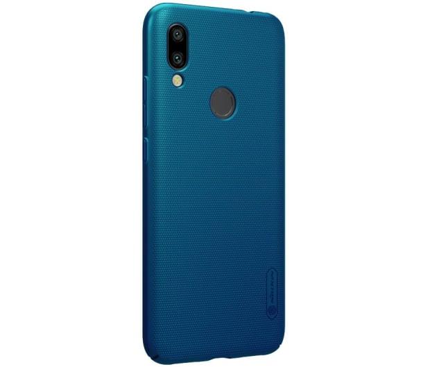 Nillkin Super Frosted Shield do Xiaomi Redmi 7 niebieski  - 497153 - zdjęcie 3