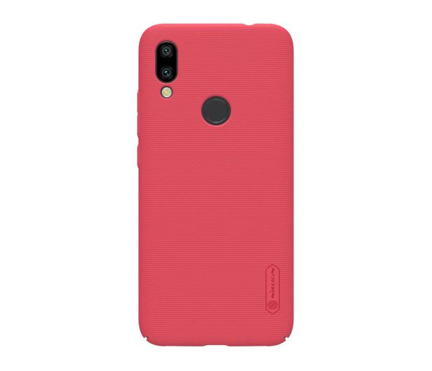 Nillkin Super Frosted Shield do Xiaomi Redmi 7 czerwony - 497150 - zdjęcie