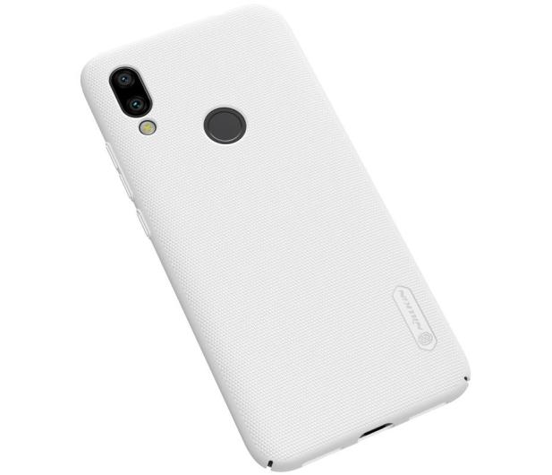 Nillkin Super Frosted Shield do Xiaomi Redmi 7 biały  - 497149 - zdjęcie 3