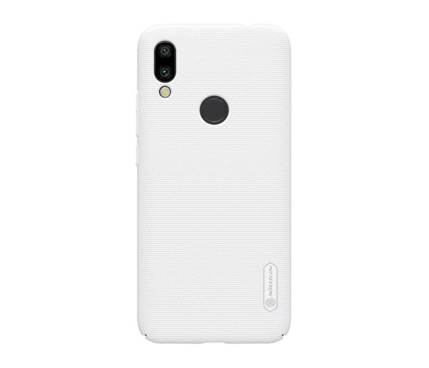 Nillkin Super Frosted Shield do Xiaomi Redmi 7 biały  - 497149 - zdjęcie