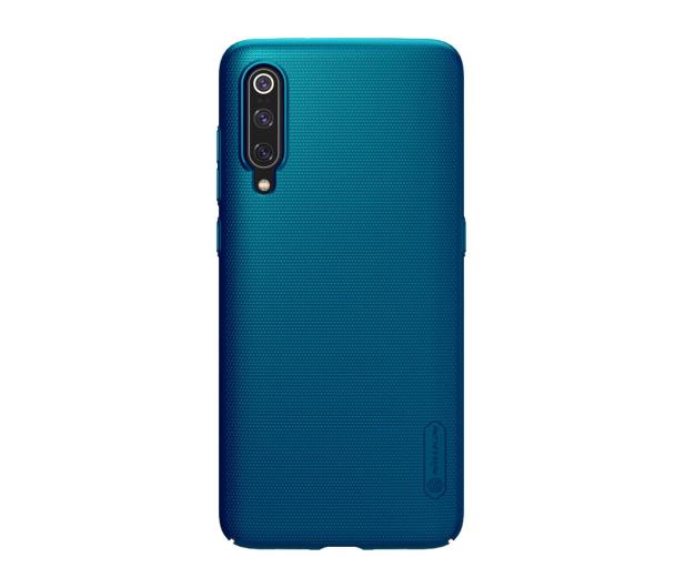 Nillkin Super Frosted Shield do Xiaomi Mi 9 niebieski  - 497137 - zdjęcie