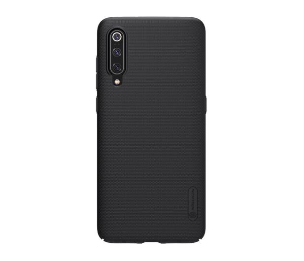Nillkin Super Frosted Shield do Xiaomi Mi 9 czarny  - 497134 - zdjęcie