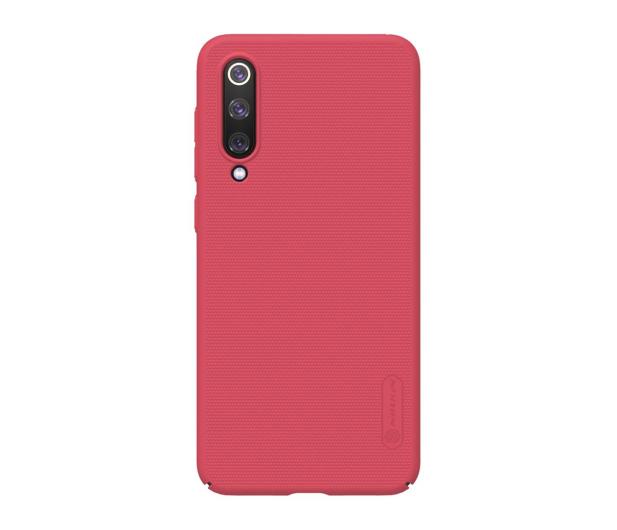 Nillkin Super Frosted Shield do Xiaomi Mi 9 SE czerwony - 497125 - zdjęcie