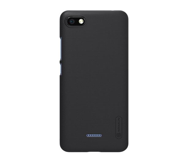 Nillkin Super Frosted Shield do Xiaomi Redmi 6A czarny  - 497120 - zdjęcie