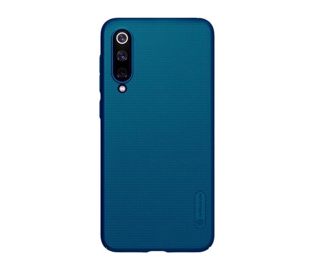Nillkin Super Frosted Shield do Xiaomi Mi 9 SE niebieski - 497131 - zdjęcie