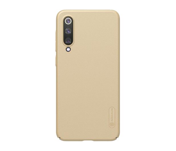 Nillkin Super Frosted Shield do Xiaomi Mi 9 SE złoty - 497128 - zdjęcie