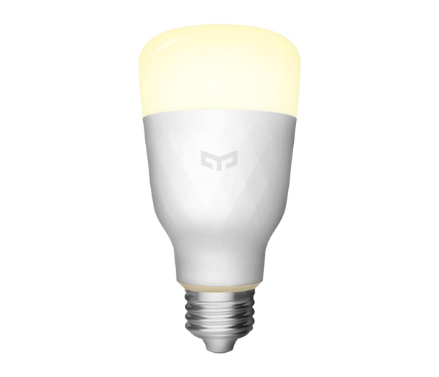 Yeelight LED Smart Bulb White (E27/800lm)  - 496069 - zdjęcie